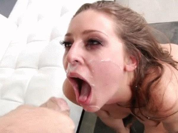 Sperma merginai į akį