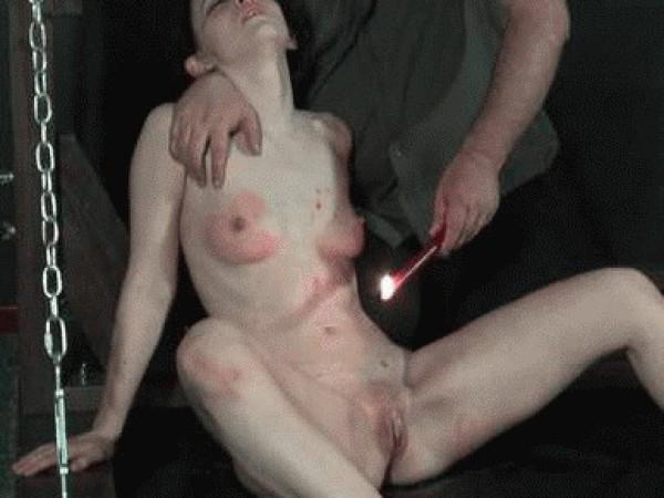BDSM karštas vaškas